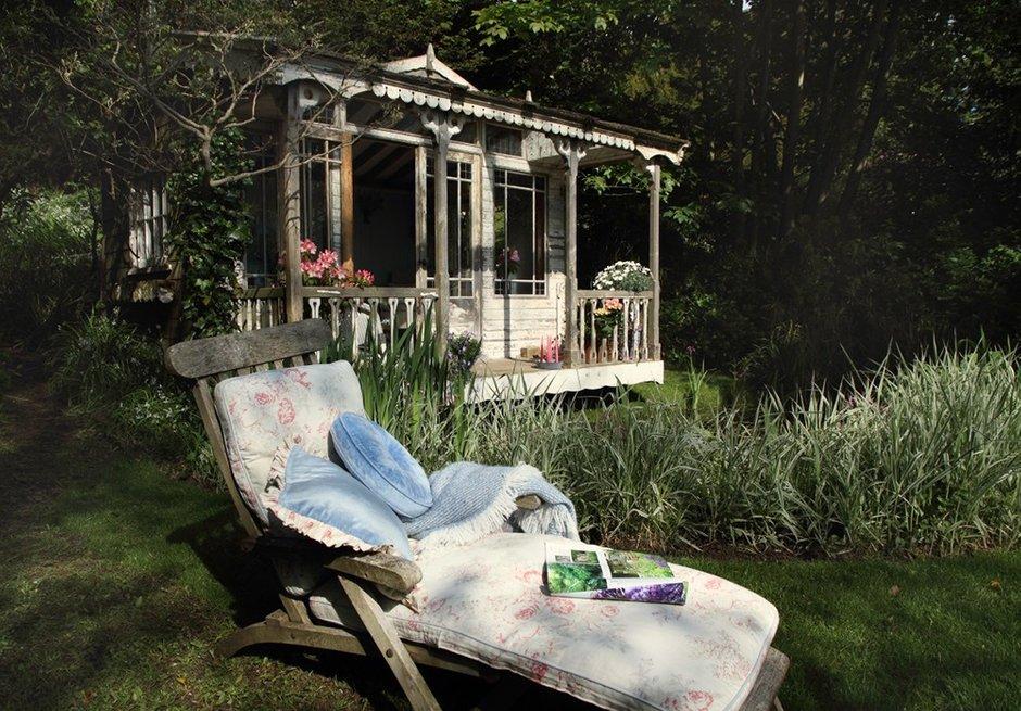Фотография: Ландшафт в стиле , Дом, Дома и квартиры, Дача, Шебби-шик – фото на INMYROOM