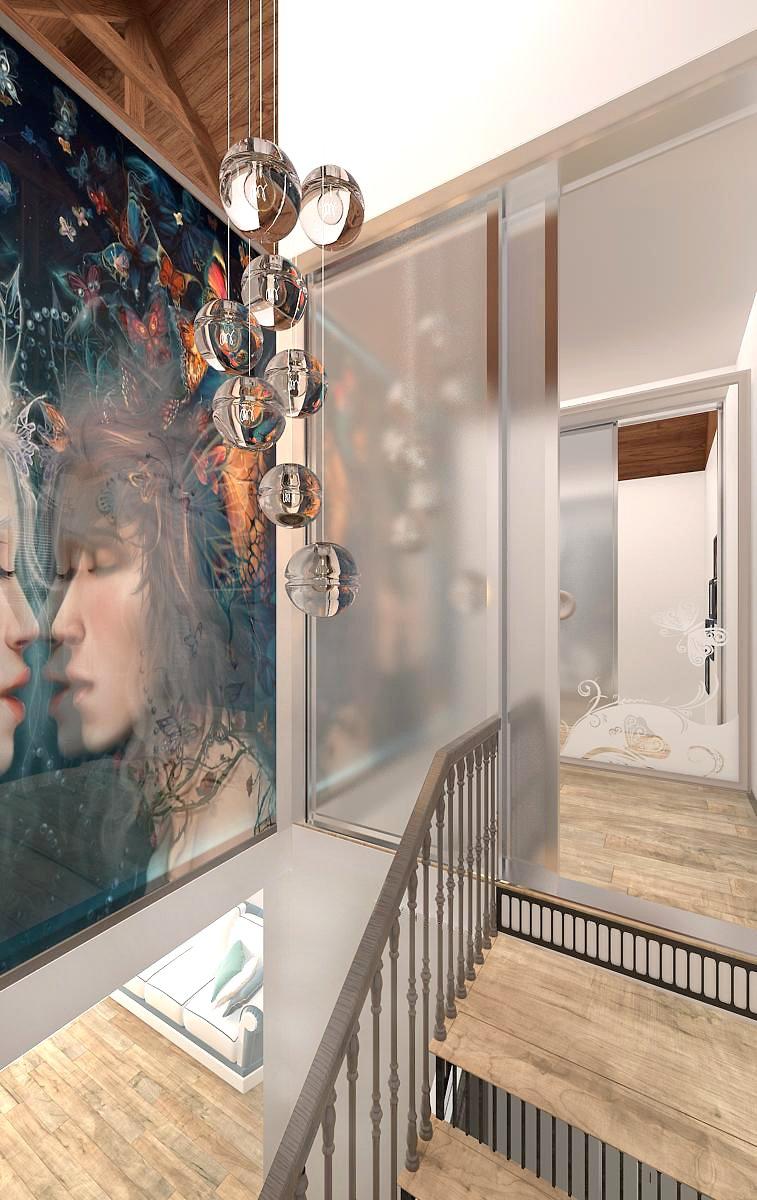 Фотография:  в стиле Эклектика, Дом, Дома и квартиры, Шале – фото на INMYROOM