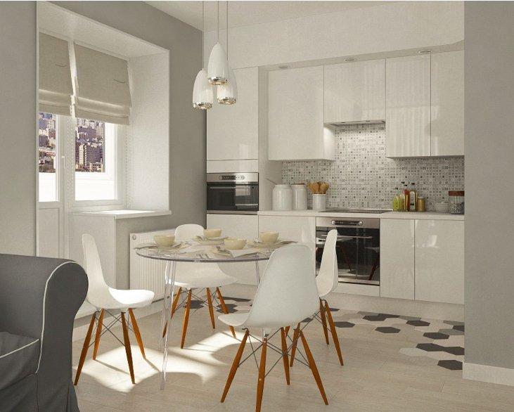 Фотография: Кухня и столовая в стиле Скандинавский, Современный, Декор интерьера, Квартира, Декор, Белый, Бежевый, Серый – фото на INMYROOM