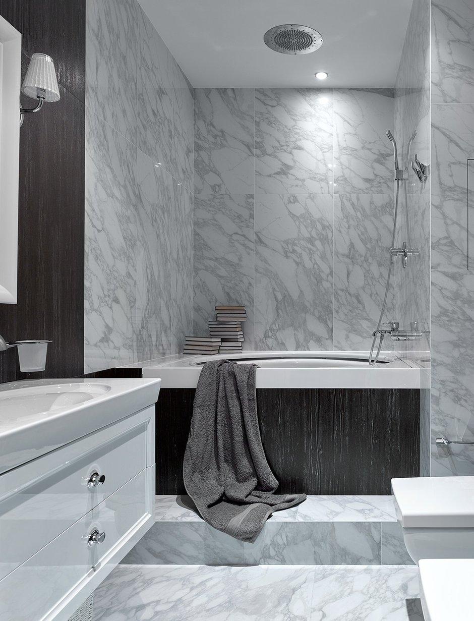 Фотография: Ванная в стиле Современный, Лофт, Квартира, Проект недели, Москва, Ариана Ахмад, Монолитный дом, 4 и больше, Более 90 метров – фото на INMYROOM