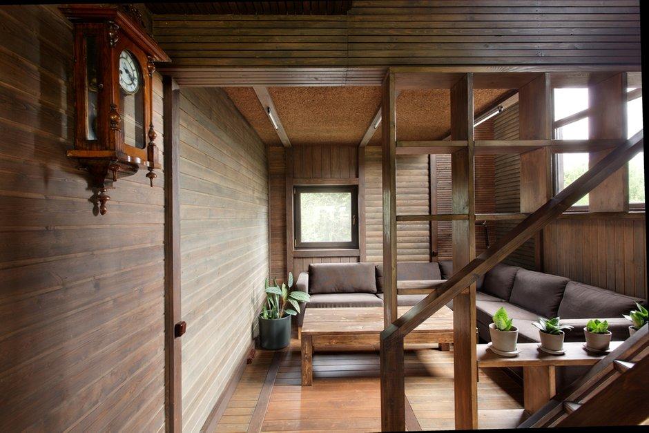 Фотография: Гостиная в стиле , Дом, Дома и квартиры, Проект недели, Дача – фото на INMYROOM