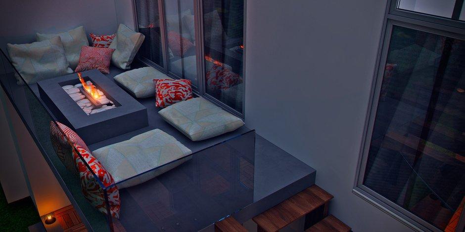 Фотография: Балкон в стиле Современный, Восточный, Дом, Минимализм, Проект недели, Эко – фото на INMYROOM