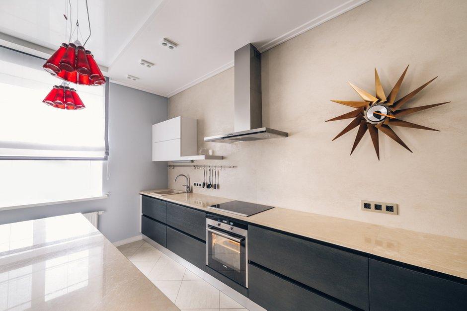 Фотография: Кухня и столовая в стиле Хай-тек, Дом, Дома и квартиры, Проект недели – фото на INMYROOM