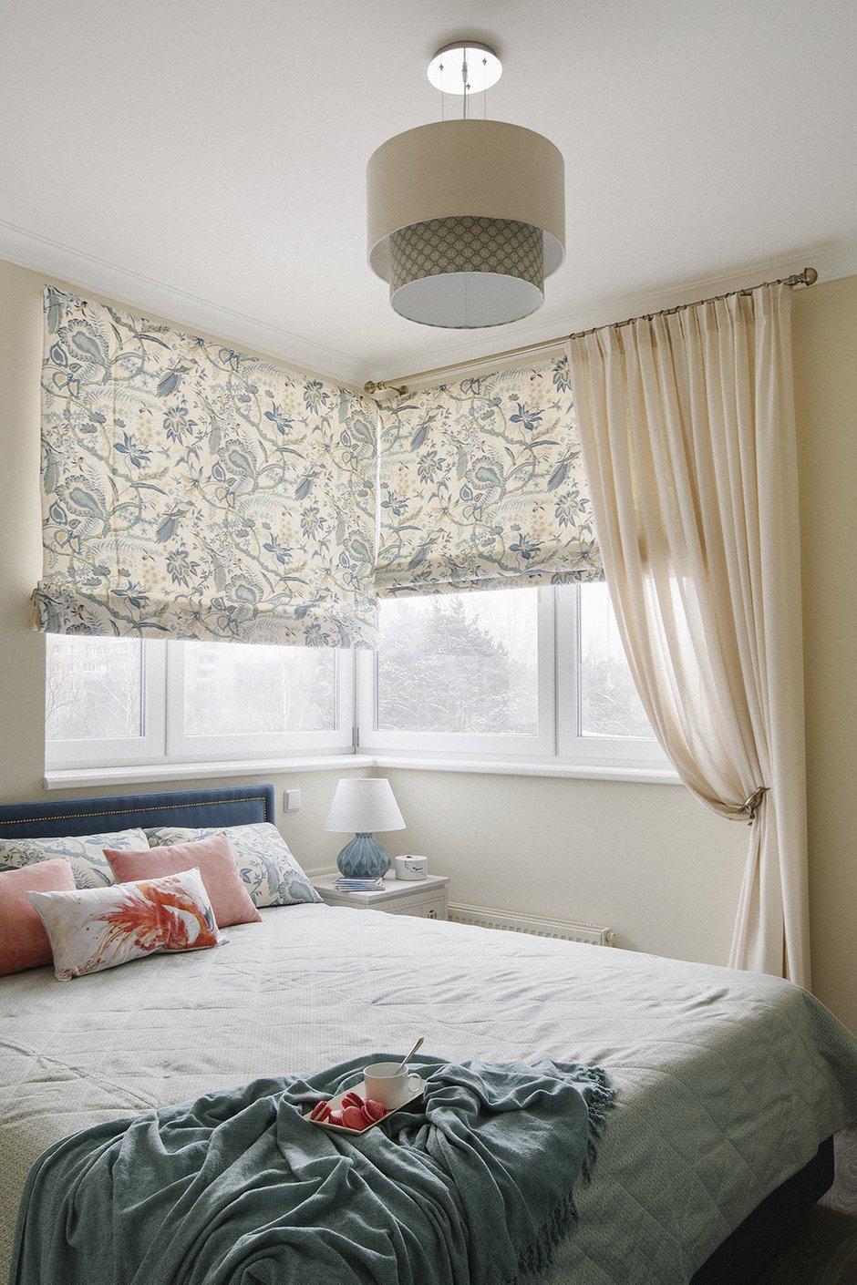 Фотография: Спальня в стиле Современный, Квартира, Проект недели, Химки, Инна Величко, 3 комнаты, 60-90 метров – фото на INMYROOM