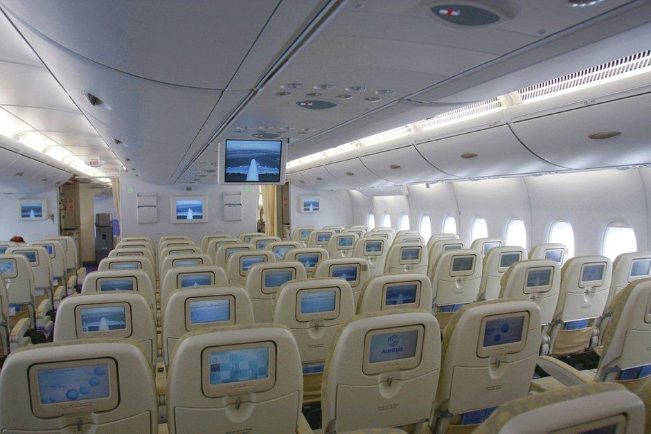 Салон самолета Airbus A380-800
