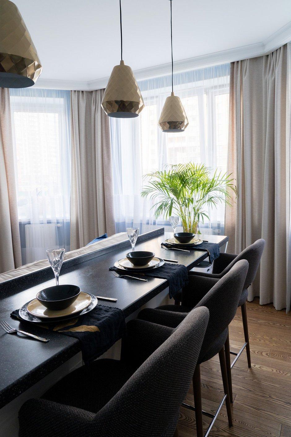 Фотография: Кухня и столовая в стиле Современный, Квартира, Проект недели, Санкт-Петербург, Светлана Гаврилова, Монолитный дом, 3 комнаты, 60-90 метров – фото на INMYROOM