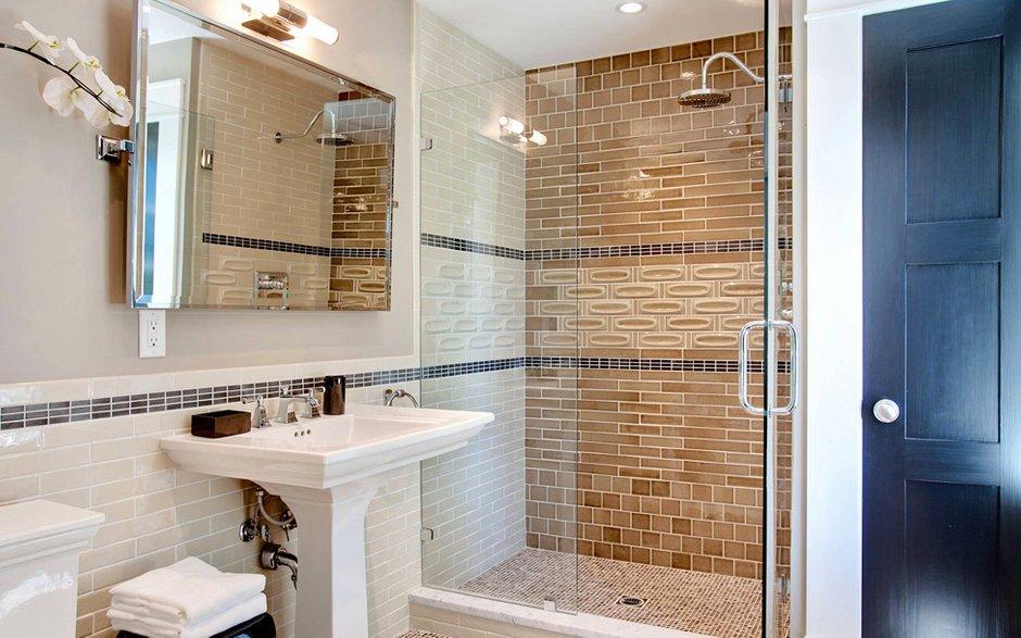 Фотография: Ванная в стиле Современный, Дом, Терраса, Дома и квартиры, Бассейн, Калифорния – фото на INMYROOM