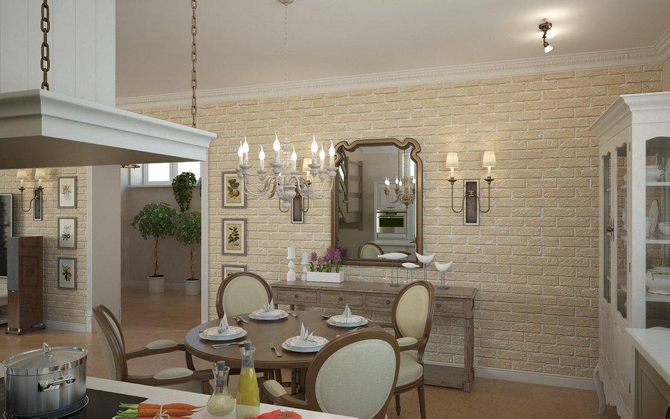 Фотография: Кухня и столовая в стиле Прованс и Кантри, Дом, Дома и квартиры, Прованс – фото на INMYROOM