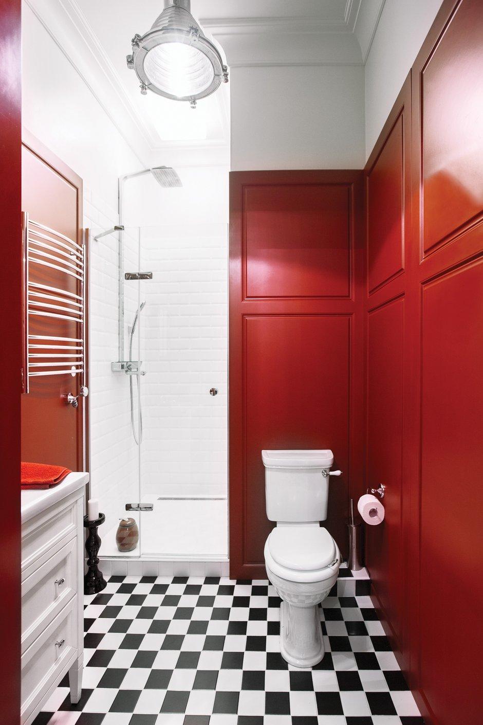 Фотография: Ванная в стиле Лофт, Эклектика, Квартира, Дома и квартиры, Надя Зотова – фото на INMYROOM
