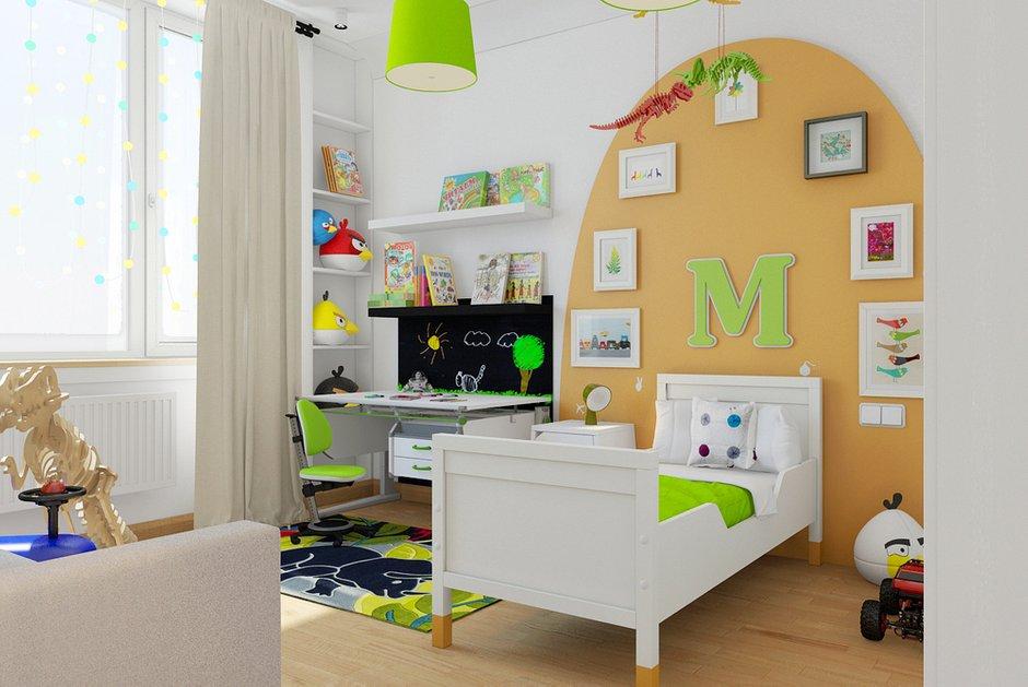 Фотография: Детская в стиле Современный, Лофт, Квартира, Дома и квартиры – фото на INMYROOM
