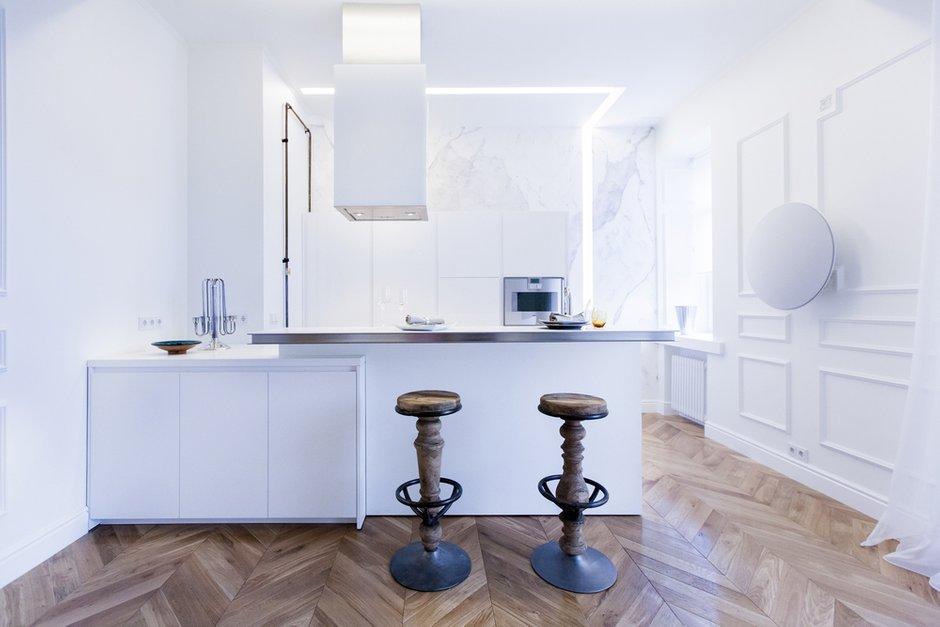 Фотография: Кухня и столовая в стиле Скандинавский, Минимализм, Проект недели – фото на INMYROOM