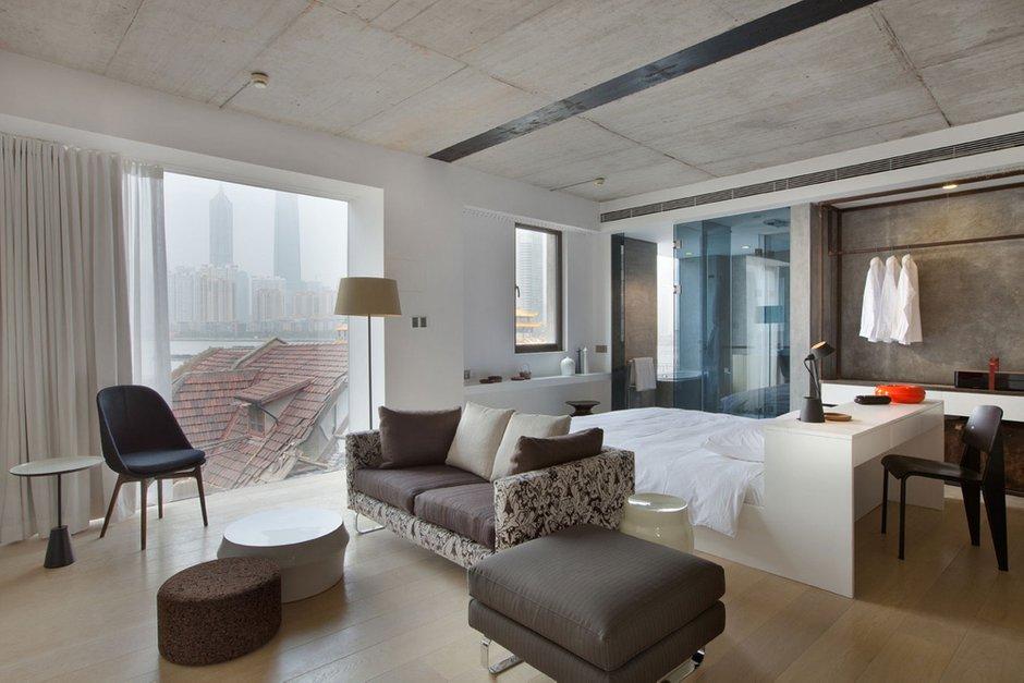 Фотография: Гостиная в стиле Современный, Дома и квартиры, Городские места – фото на INMYROOM