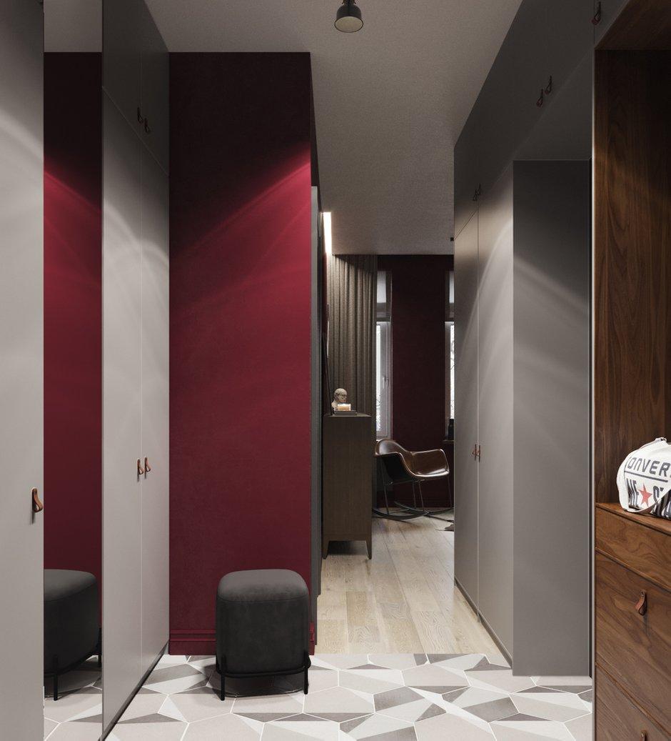 Фотография: Прихожая в стиле Современный, Квартира, Проект недели, Москва, Юлия Чернова, 1 комната, до 40 метров – фото на INMYROOM