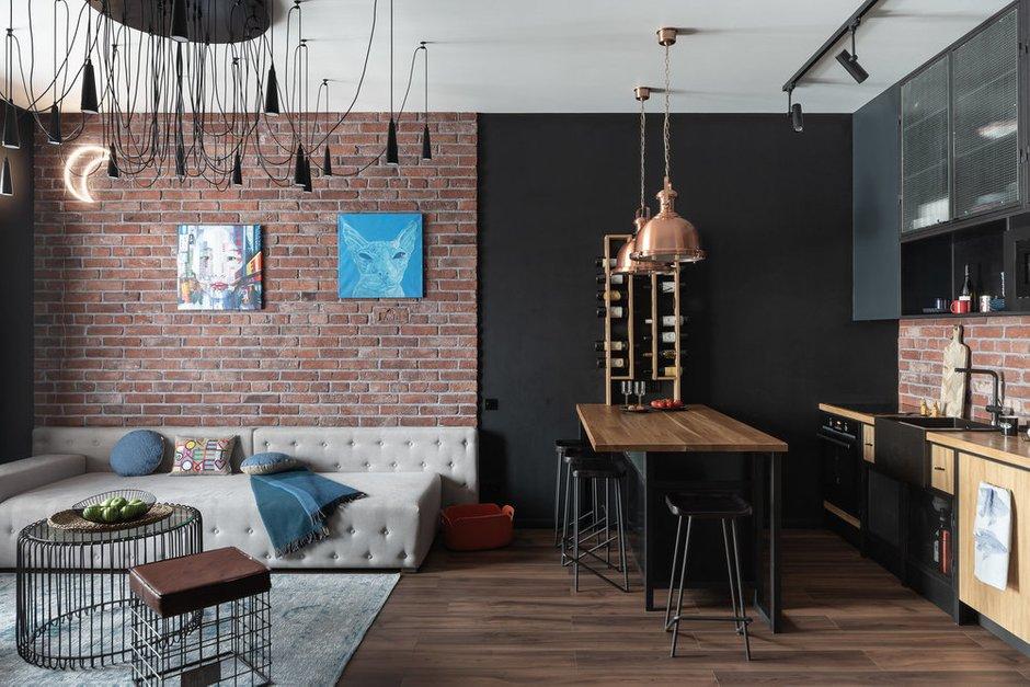Фотография:  в стиле , Кухня и столовая, Гостиная, Декор интерьера, LEGO, конструктор, мозаики, арт-мозаики, мозаики LEGO – фото на INMYROOM