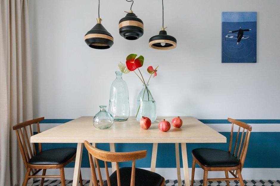 Фотография: Кухня и столовая в стиле Скандинавский, Современный, Квартира, Проект недели, Москва, Инна Величко, 3 комнаты, 60-90 метров – фото на INMYROOM