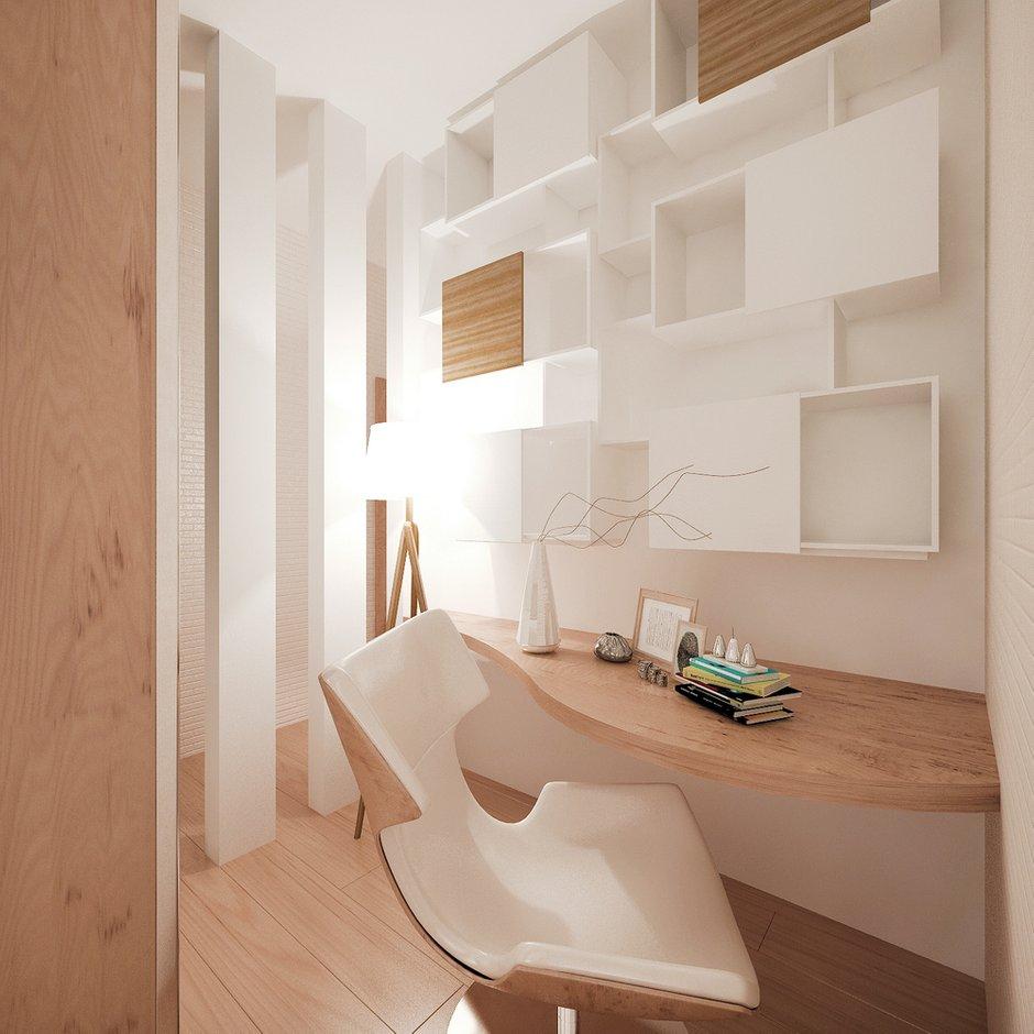 Фотография: Мебель и свет в стиле Современный, Квартира, Дома и квартиры, Проект недели, Мансарда – фото на INMYROOM