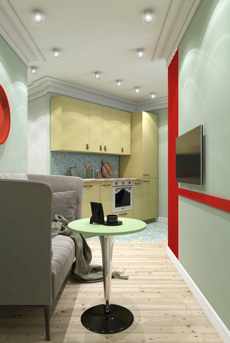 Фотография: Гостиная в стиле Современный, Квартира, Студия, Проект недели, Марина Саркисян, Финляндия, до 40 метров – фото на INMYROOM