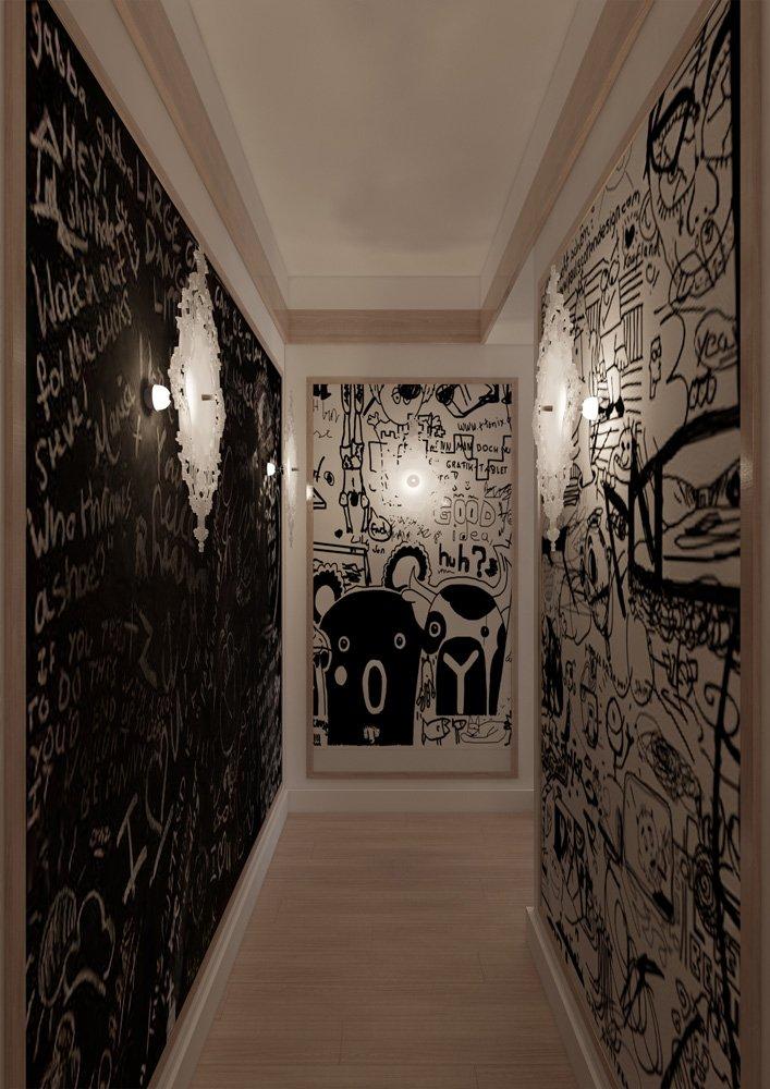 Фотография: Прихожая в стиле Лофт, Квартира, BoConcept, Дома и квартиры, Проект недели – фото на InMyRoom.ru
