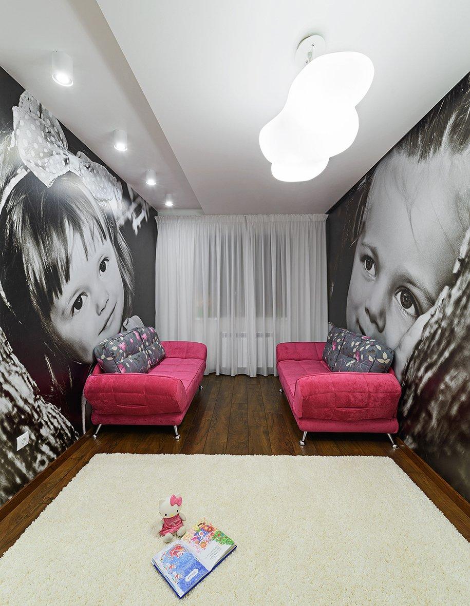 Фотография: Детская в стиле Хай-тек, Квартира, Цвет в интерьере, Дома и квартиры, Белый – фото на INMYROOM