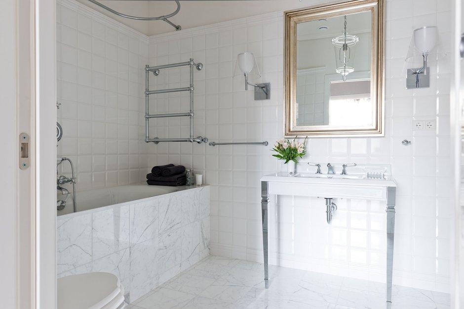 Фотография: Ванная в стиле Прованс и Кантри, Эклектика, Современный, Квартира, Декор, Проект недели – фото на INMYROOM