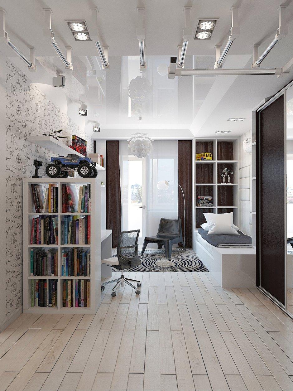 Фотография: Детская в стиле Хай-тек, Декор интерьера, Квартира, Christopher Guy, Massive, HOFF, Дома и квартиры, IKEA, Проект недели – фото на INMYROOM