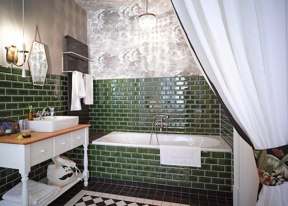 Фотография: Ванная в стиле , Квартира, Германия, Дома и квартиры – фото на INMYROOM
