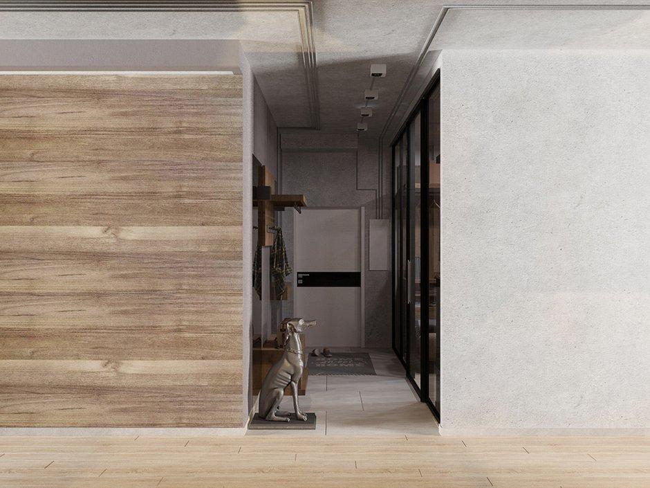 Фотография: Прихожая в стиле Современный, Квартира, Проект недели, Евгения Ермолаева, EEDS, 2 комнаты, 60-90 метров, Монолитно-кирпичный, ЖК Квартал 9/18 – фото на INMYROOM