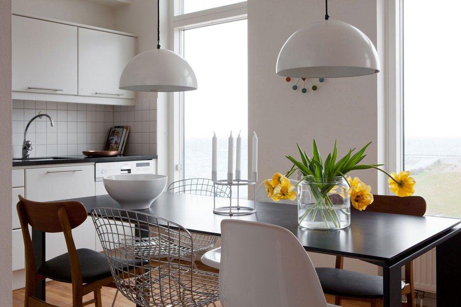 Фотография: Кухня и столовая в стиле Современный, Скандинавский, Квартира, Дома и квартиры – фото на INMYROOM