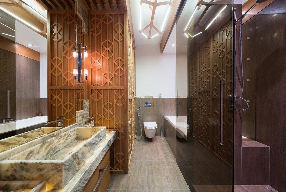Фотография: Ванная в стиле Лофт, Квартира, Дома и квартиры, Проект недели, Москва – фото на INMYROOM