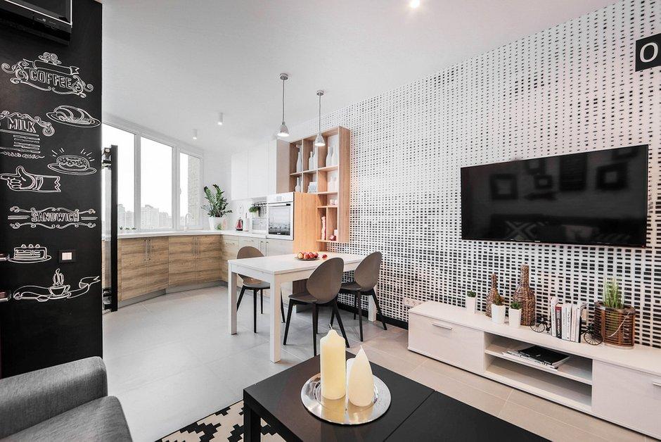 Фотография: Кухня и столовая в стиле Лофт, Современный, Квартира, Дома и квартиры, IKEA, Минимализм, Проект недели – фото на INMYROOM