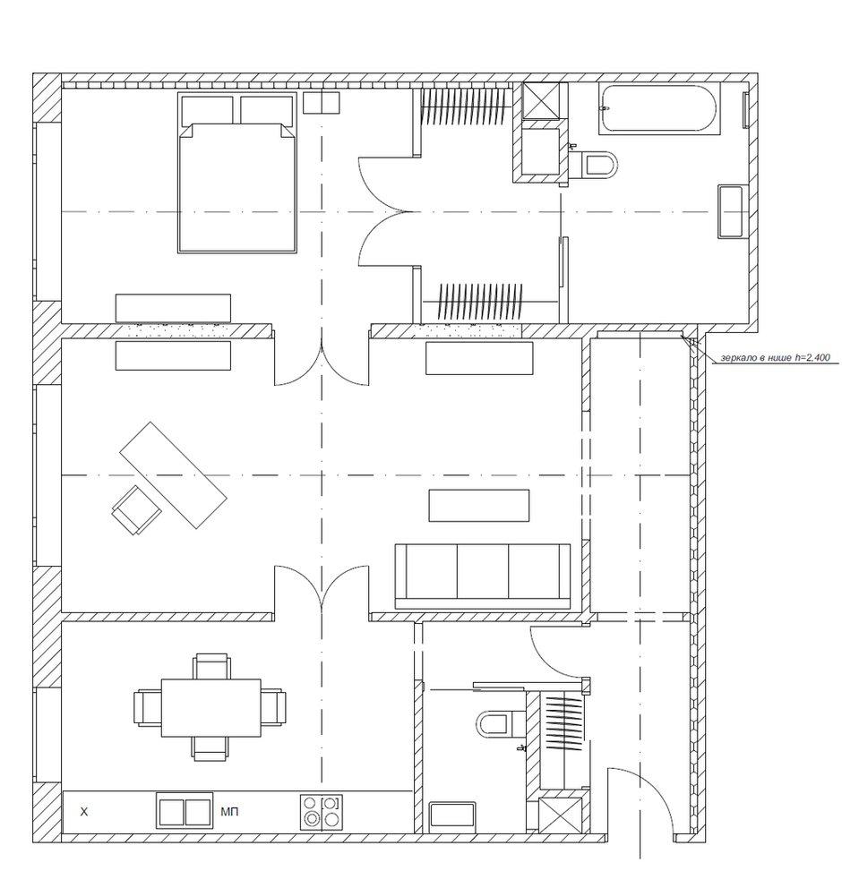 Фотография: Планировки в стиле Современный, Квартира, Декор, Проект недели – фото на INMYROOM