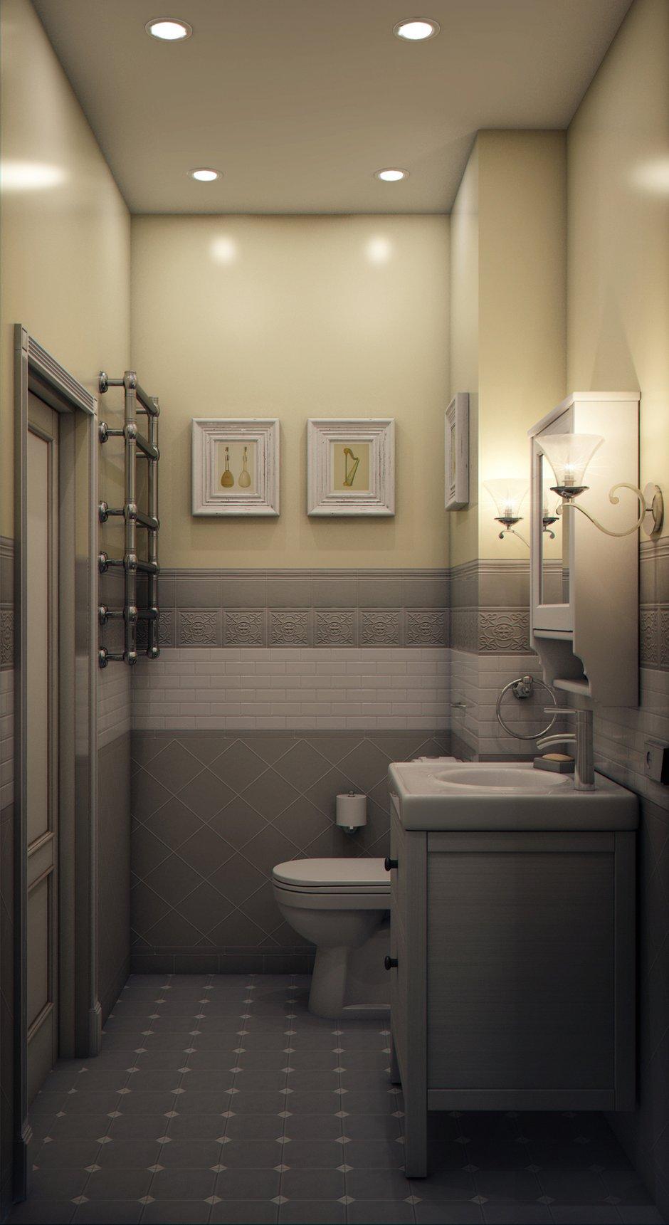 Фотография: Ванная в стиле Классический, Современный, Эклектика, Квартира, Проект недели, Марина Саркисян, Подмосковье – фото на INMYROOM
