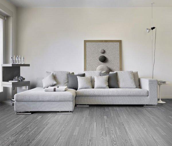 Фотография: Гостиная в стиле Скандинавский, Декор интерьера, Дизайн интерьера, Цвет в интерьере, Серый – фото на INMYROOM