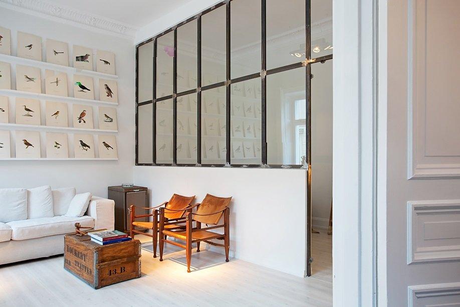 Фотография: Гостиная в стиле Скандинавский, Малогабаритная квартира, Квартира, Дома и квартиры, Стокгольм – фото на INMYROOM