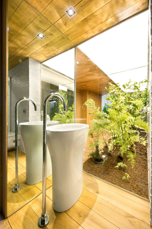 Фотография: Ванная в стиле Лофт, Дом, Дома и квартиры – фото на INMYROOM