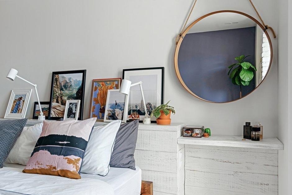 Фотография: Спальня в стиле Скандинавский, Квартира, Белый, Проект недели, Евгения Лыкасова – фото на INMYROOM