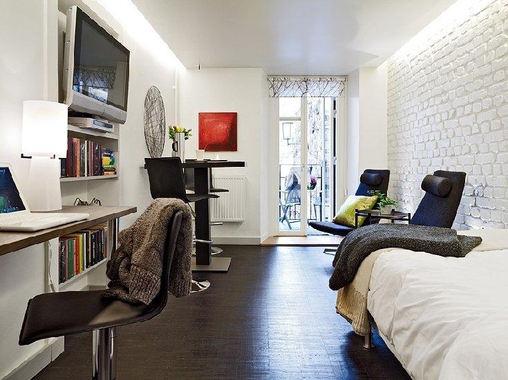 Фотография: Офис в стиле Лофт, Скандинавский, Современный, Малогабаритная квартира, Квартира, Швеция, Дома и квартиры – фото на INMYROOM