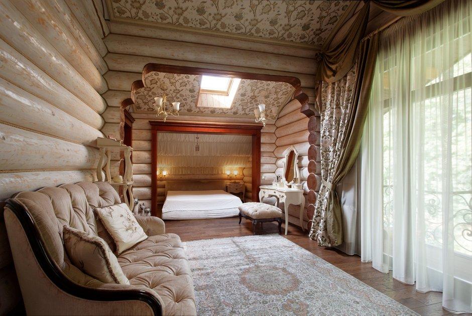 Фотография: Спальня в стиле Прованс и Кантри, Дом, Дома и квартиры, Проект недели, Дача – фото на INMYROOM