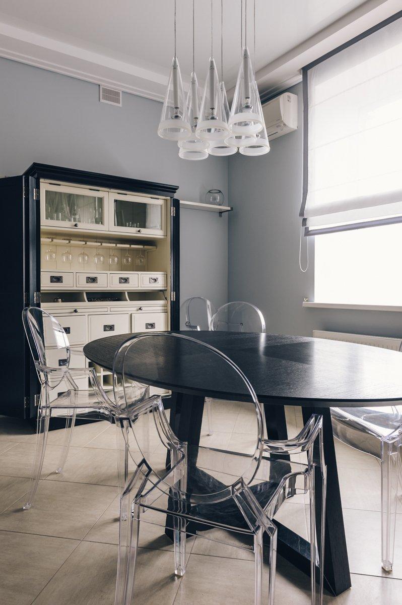 Фотография: Кухня и столовая в стиле Современный, Хай-тек, Дом, Дома и квартиры, Проект недели – фото на INMYROOM