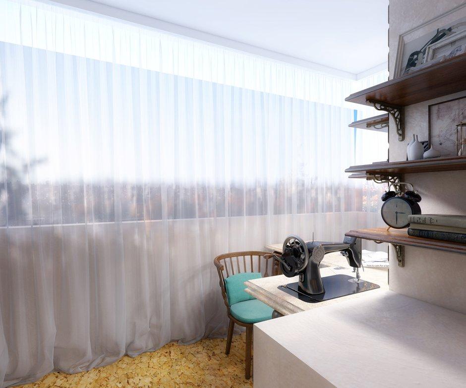 Фотография: Балкон, Терраса в стиле Прованс и Кантри, Квартира, Дома и квартиры, IKEA, Проект недели – фото на InMyRoom.ru