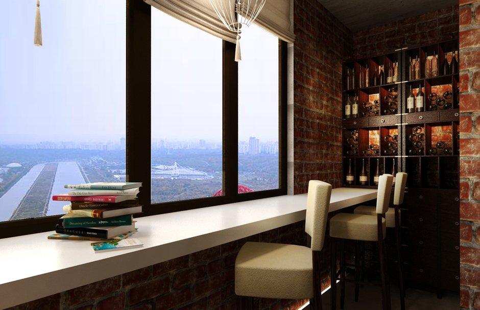 Фотография: Балкон, Терраса в стиле Лофт, Восточный, Квартира, Дома и квартиры, Проект недели, Переделка – фото на INMYROOM