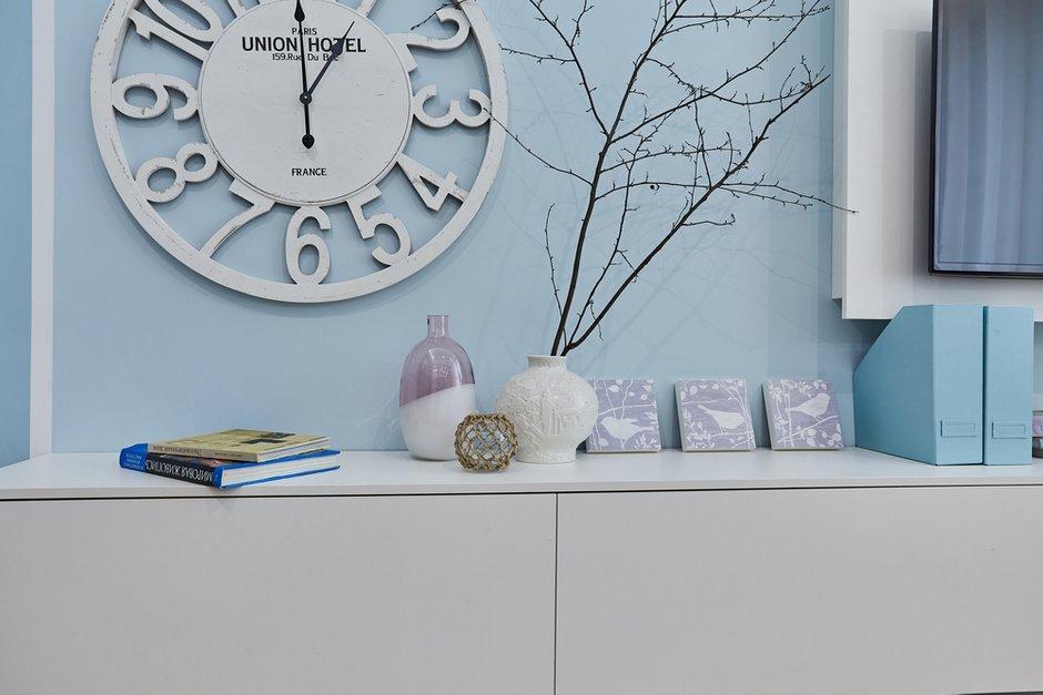 Фотография: Декор в стиле Современный, Квартира, Проект недели, Москва, Монолитный дом, 1 комната, 40-60 метров, Алла Апалкова – фото на INMYROOM