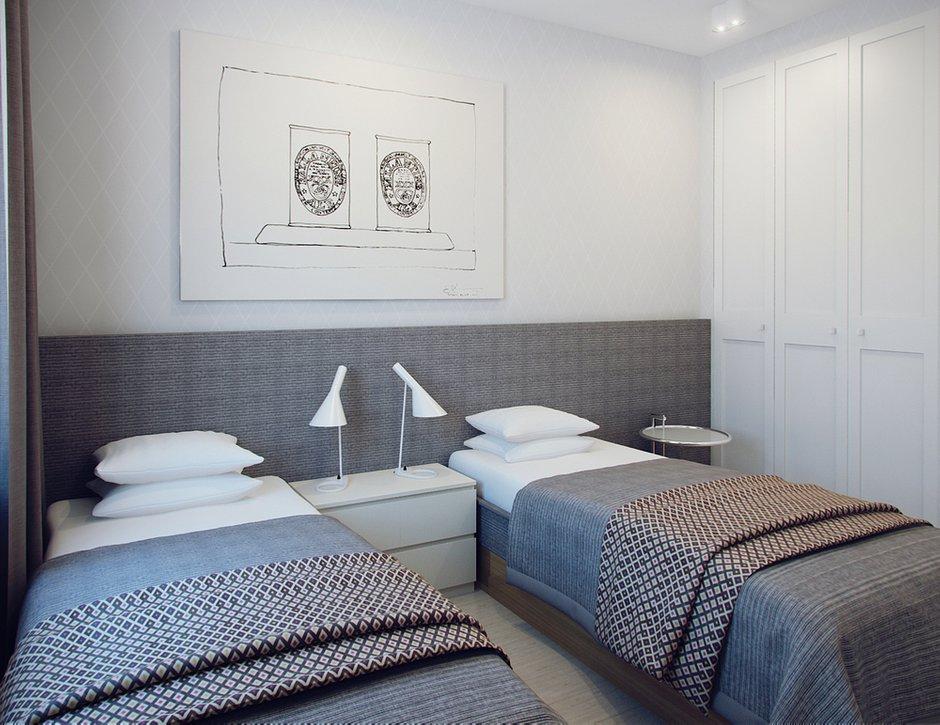 Фотография: Спальня в стиле Скандинавский, Современный, Малогабаритная квартира, Квартира, Дома и квартиры, Проект недели – фото на INMYROOM
