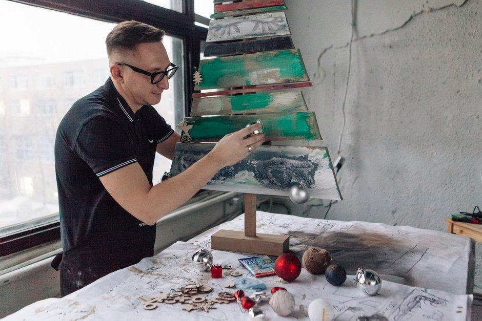 Фотография:  в стиле , DIY, Новый Год, Саша Мершиев – фото на INMYROOM