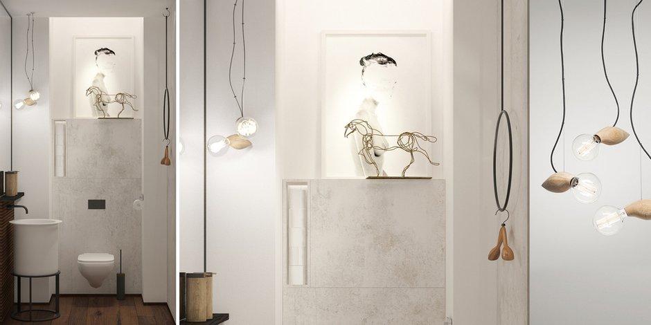 Фотография: Спальня в стиле Современный, Эклектика, Декор интерьера, Квартира, Белый, Проект недели, Бежевый – фото на INMYROOM