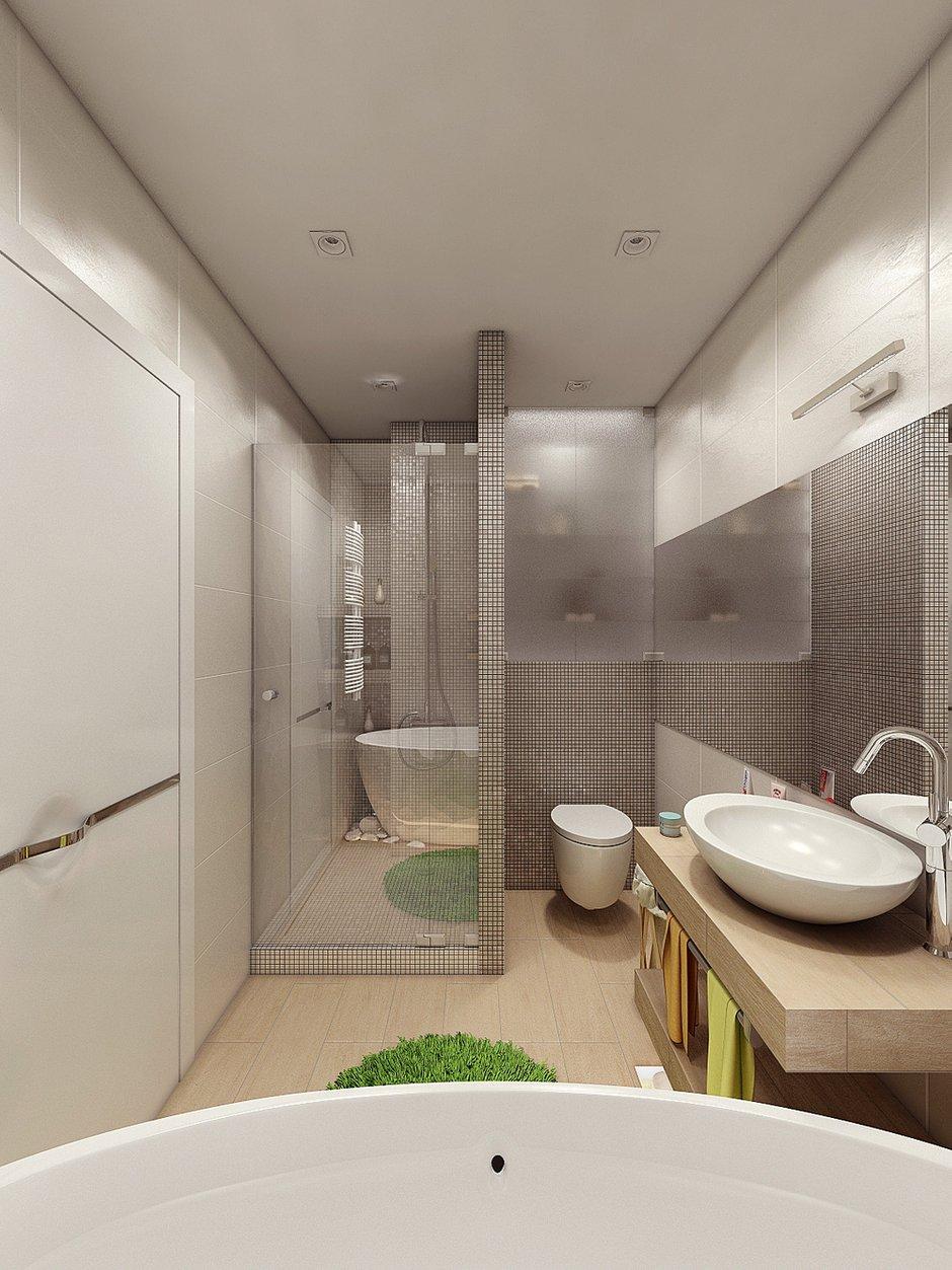 Фотография: Ванная в стиле Современный, Квартира, Дома и квартиры, IKEA, Проект недели – фото на INMYROOM