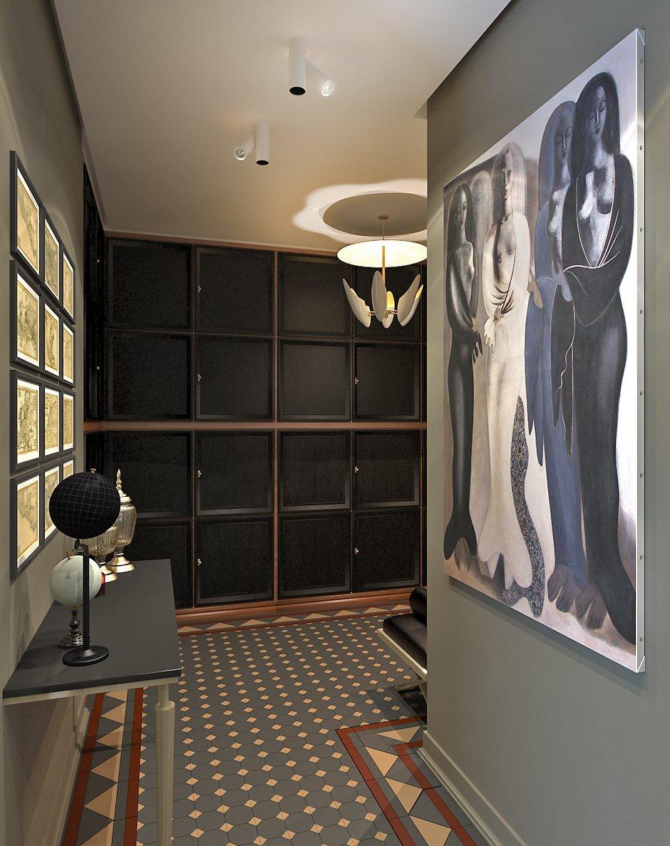 Фотография: Прихожая в стиле Восточный, Эклектика, Квартира, Дома и квартиры, Проект недели, Ар-деко – фото на INMYROOM