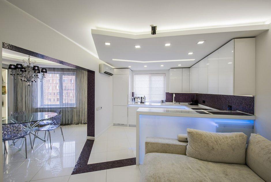 Фотография:  в стиле , Современный, Квартира, Проект недели, Московская область, LUXER Design, четырехкомнатная квартира, П44т – фото на INMYROOM