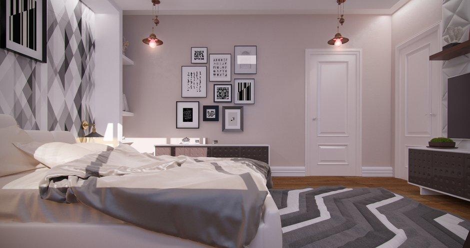 Фотография: Спальня в стиле Классический, Современный, Дом, Московская область, Апрелевка парк, Филипп Киценко – фото на InMyRoom.ru