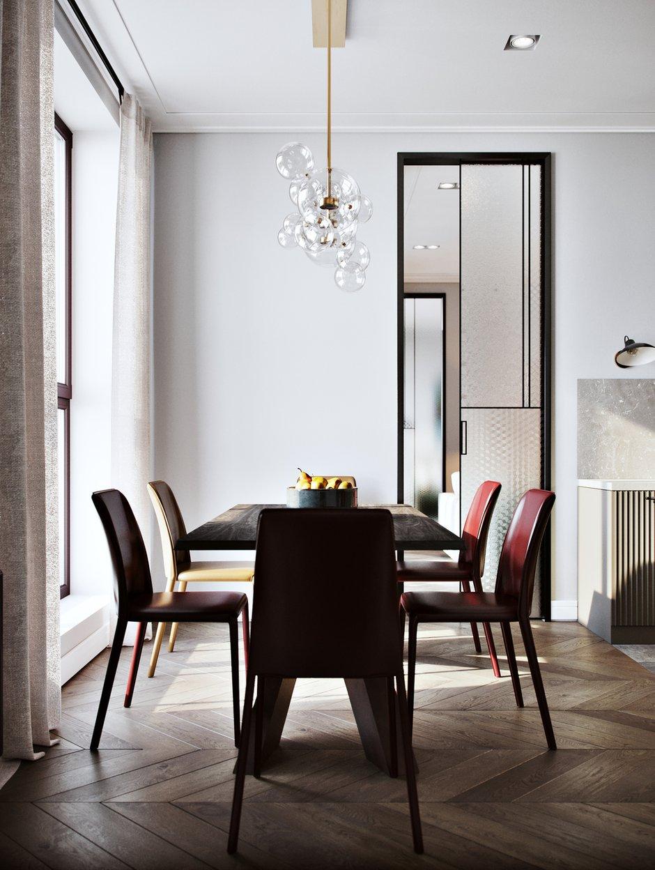 Фотография: Кухня и столовая в стиле Современный, Miele, Проект недели, Москва, 4 и больше, Более 90 метров, Aiya Design, ЖК «Red Side» – фото на INMYROOM